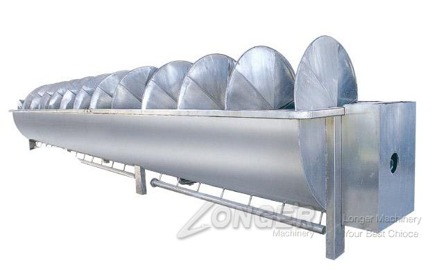 6 Meter Automatic Poultry Screw Chiller Machine